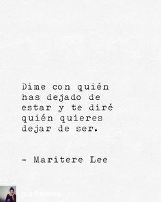 (Maritere Lee)
