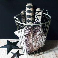 Large Metal Storage Basket - House Junkie