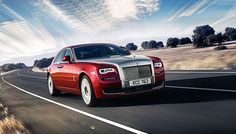 Rolls-Royce Ghost Series II Instead of a limo I would like a Rolls Roycr.
