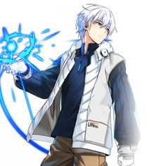 Jack (flash light) creates beams of light from his hands. Manga Anime, Got Anime, Fantasy Character Design, Character Design Inspiration, Character Art, Fantasy Art Men, Anime Fantasy, Manga Characters, Fantasy Characters