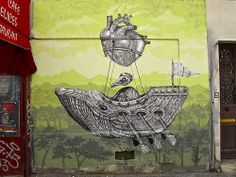 ALEXIS DIAZ http://www.widewalls.ch/artist/alexis-diaz/ #graffiti #streetart