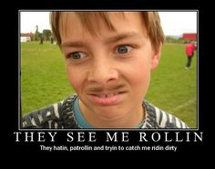 They See Me Rollin Funny Backgrounds
