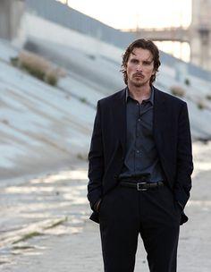 """Christian Bale en """"Knight of Cups"""", 2015"""