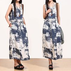 Ink printed dresses/Blouse / Skirt / Maxi Dress / by Focus2013, $79.99