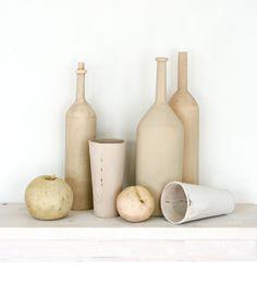 Ceramic still life for your mantle. $515.00, via Etsy.