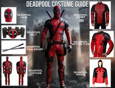 9 best deadpool cosplay ideas images on pinterest costume ideas deadpool costume guide funny costumesdiy solutioingenieria Choice Image