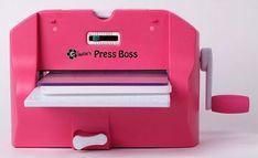 Hobby Alternatief: Mijn  PressBoss  - A4 Die cutting & embossing mach...