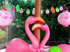 Pink flamingos New Years Party Ideas | Photo 2 of 12 | Catch My Party