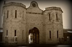 Fremantle prison gates