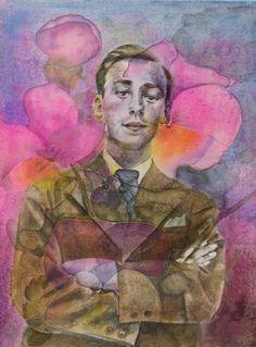 "Saatchi Art Artist Sabina Sinko; Painting, ""He"" #art"