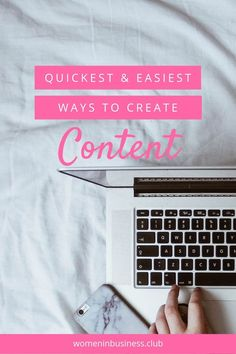 10 Ideas for Quick and Easy Content Creation Social Media Content, Social Media Tips, Content Marketing Strategy, Media Marketing, Online Marketing, Business Women, Online Business, Success Story, Creative Business