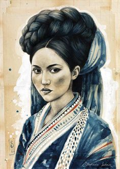 Stéphanie Ledoux - Carnets de voyage: Chez les Hani