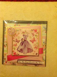Simply beautiful handmade card