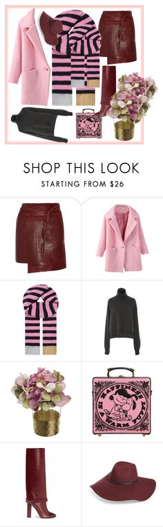"""Unbenannt #441"" by babett-beattie ❤ liked on Polyvore featuring Isabel Marant, Gucci, Rejina Pyo, Olympia Le-Tan, Tory Burch and Halogen"