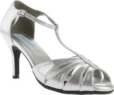 1930s Style Shoes for Women. Oxford HeelsSilver Pumps1930s StyleShoes Style Shoes For WomenHeels & PumpsSandalJetProm Shoes. Women's Dyeables Martina T- Strap ...