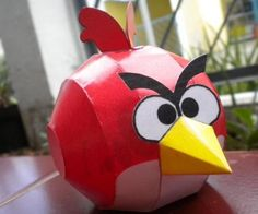 Angry Birds Paper Carfts