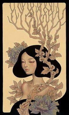 Audrey Kawasaki my favorite Japanese artist!