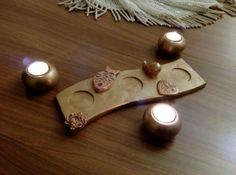 Tea light holders, tealight mumluk, candle holders, @evita_handmade_art