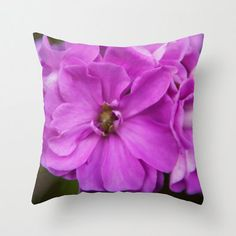 "Photography Throw Pillow*Polyester pillow*16""x16"" * 18""x18"" or 20""x20"" Home decor*Flower pillow*Pink colorful gift idea"