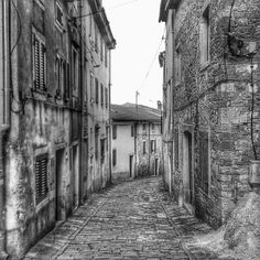old town / black and white