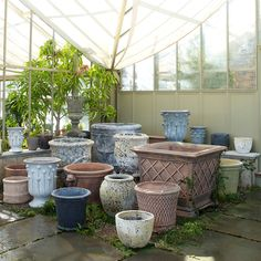 A fantastic addition to your garden, each of these weathered planters features a distinct maritime texture. An antiqued glaze will continue to change over time, adding to the pot's character and authenticity, while high-fired earthenware offers durability, strength, and resistance to frost.- Handmade- Glazed earthenware- Due to the unique nature of each pot, color and finish may vary- Indoor or outdoor use- Frost resistant: for best longevity, empty and place upside down on boards or pot…