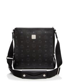 Mcm Small Color Visetos Messenger Shoulder Bag