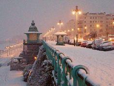 Brighton during snowfall. by Annie Annie on 500px