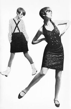 We're pleased as punch the V&A re-issued their biography of Swinging Sixties designer Mary Quant. 70s Women Fashion, 60s And 70s Fashion, European Fashion, Vintage Fashion, British Fashion, Vintage Outfits, 70s Mode, Mary Quant, Vintage Mode