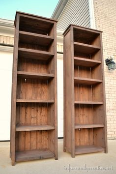 The Homestead Survival: How to Make Bookshelves DIY Project