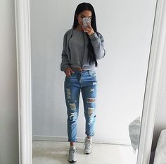 Grey huaraches