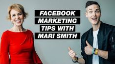 3 Facebook Marketing Tips and Trends with Mari Smith Facebook Marketing Strategy, Digital Marketing Strategy, Mobile Marketing, Internet Marketing, Online Marketing, Social Media Marketing, About Facebook, Facebook Video, Latest Facebook
