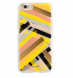 Garance Dore for Rifle Paper Co. Clear Color Bar Protective iPhone Cover