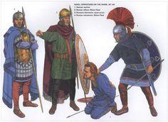 Roman naval operations on the Rhine, 357 AD