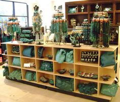 Charming Charlies - a candy shop of accessories and all grouped by color