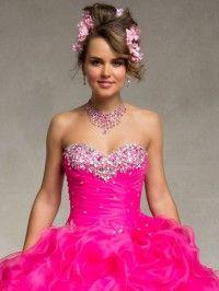 Increíbles vestidos fucsia de 15 años | Colección Quinceañeras