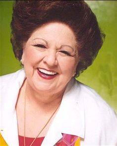 Vestal Goodman's voice chills me to my bone. She reaffirms my faith every time she sings.