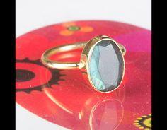 Eine schöne handgemachte 925er Sterling Silber Labradorit  ring.100 % echte 925 Silber Labradorit Ring ** AAA Menge **** Einzigartige Labradorit  Ring **