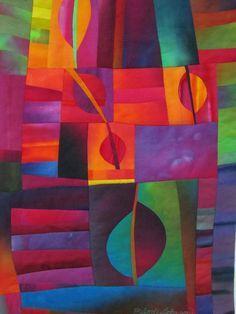 Leaf Light Detail Melody Johnson Quilts: Source by terramarie Quilt Modernen, Contemporary Quilts, Silk Painting, Art Plastique, Fabric Art, Oeuvre D'art, Quilting Designs, Textile Art, Fiber Art