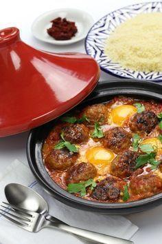 Recette du tajine de boulettes (keftas) aux oeufs et épices !