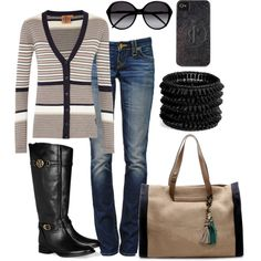 """~Black and Brown~"" by mels777 on Polyvore"