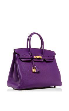 Hermes White Gold Hardware 35cm Birkin X Stamp Bag | Handbags ...