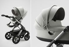 Introducing elegant Grey Melange to the Stokke Stroller Collection