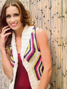 Crochetemoda: Crochet - Colete