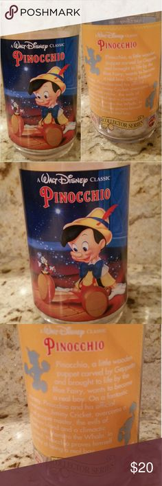 Pinnochio 1994 Vintage Cup Collectable MADE IN USA 1994 Originally Promotion Item Sold thru Burger King.  New unused no box Disney Other