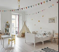 Tour a Spacious, Bright and Cheerful Family Home in Gothenburg