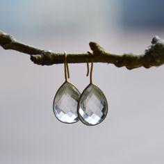 Melissa Dew Golden Dewdrop Earring