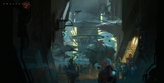 Project77 Market Scene, Martin Deschambault