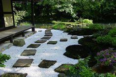 """""""Moos, Moose in japanischen Gärten als wichtigste Bodendecker"""""""