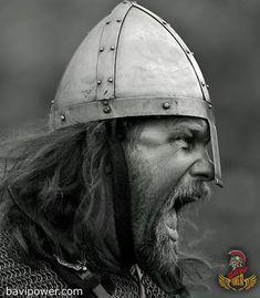 DeviantArt: More Like Viking Sagas 06 by Nivelis Viking Warrior Tattoos, Viking Tattoo Sleeve, Totenkopf Tattoos, Viking Culture, Armadura Medieval, Old Norse, Norse Vikings, Viking Art, Anglo Saxon