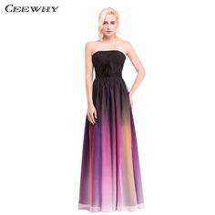 >> Click to Buy << Gradient Color Off the Shoulder Lace Up A-Line Formal Gowns Celebrity Bridesmaid Dresses Floor-Length Wedding Party Dresses #Affiliate